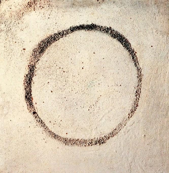 Circle, mixed media, 1995, 100x100