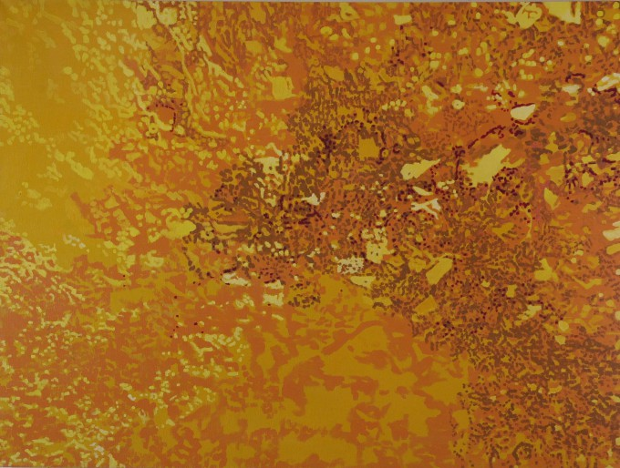 Earth, 150x200, acryl on canvas, 2007