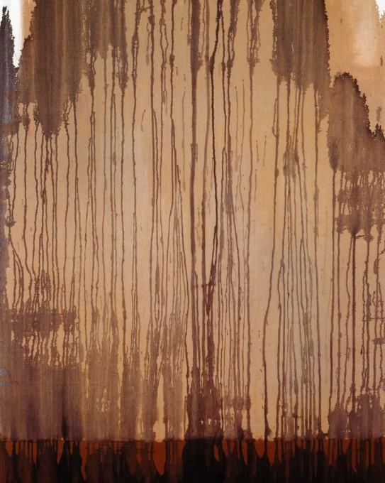 High Trees, 2003, 100x80, oil on canvas